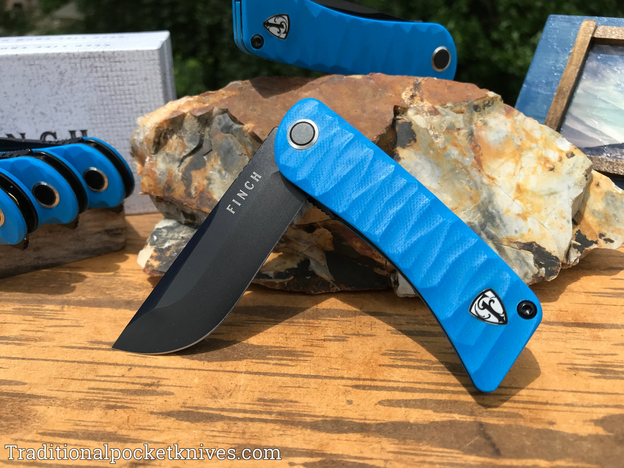 Finch Tikuna Military Blue G-10