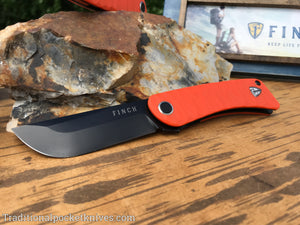 Finch Tikuna Safety Orange G-10