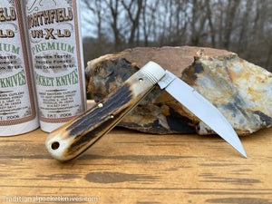 Great Eastern Cutlery #470120 Northfield UN-X-LD Viper Sambar Stag #1