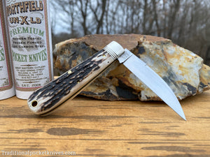 Great Eastern Cutlery #470120 Northfield UN-X-LD Viper Sambar Stag #3