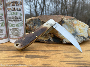Great Eastern Cutlery #470120 Northfield UN-X-LD Viper Sambar Stag #4