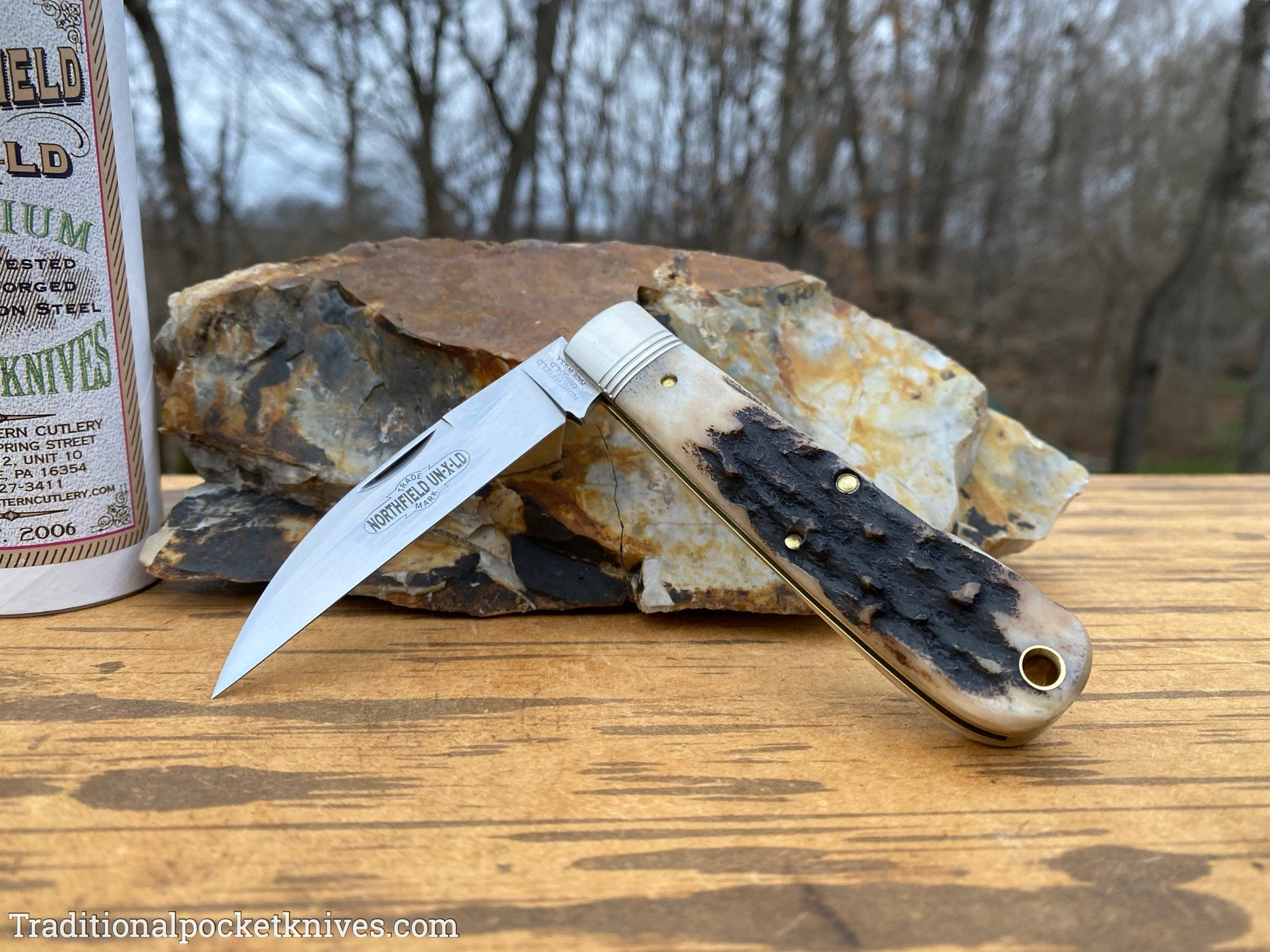 Great Eastern Cutlery #470120 Northfield UN-X-LD Viper Sambar Stag #5