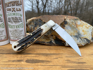 Great Eastern Cutlery #470120 Northfield UN-X-LD Viper Sambar Stag #6
