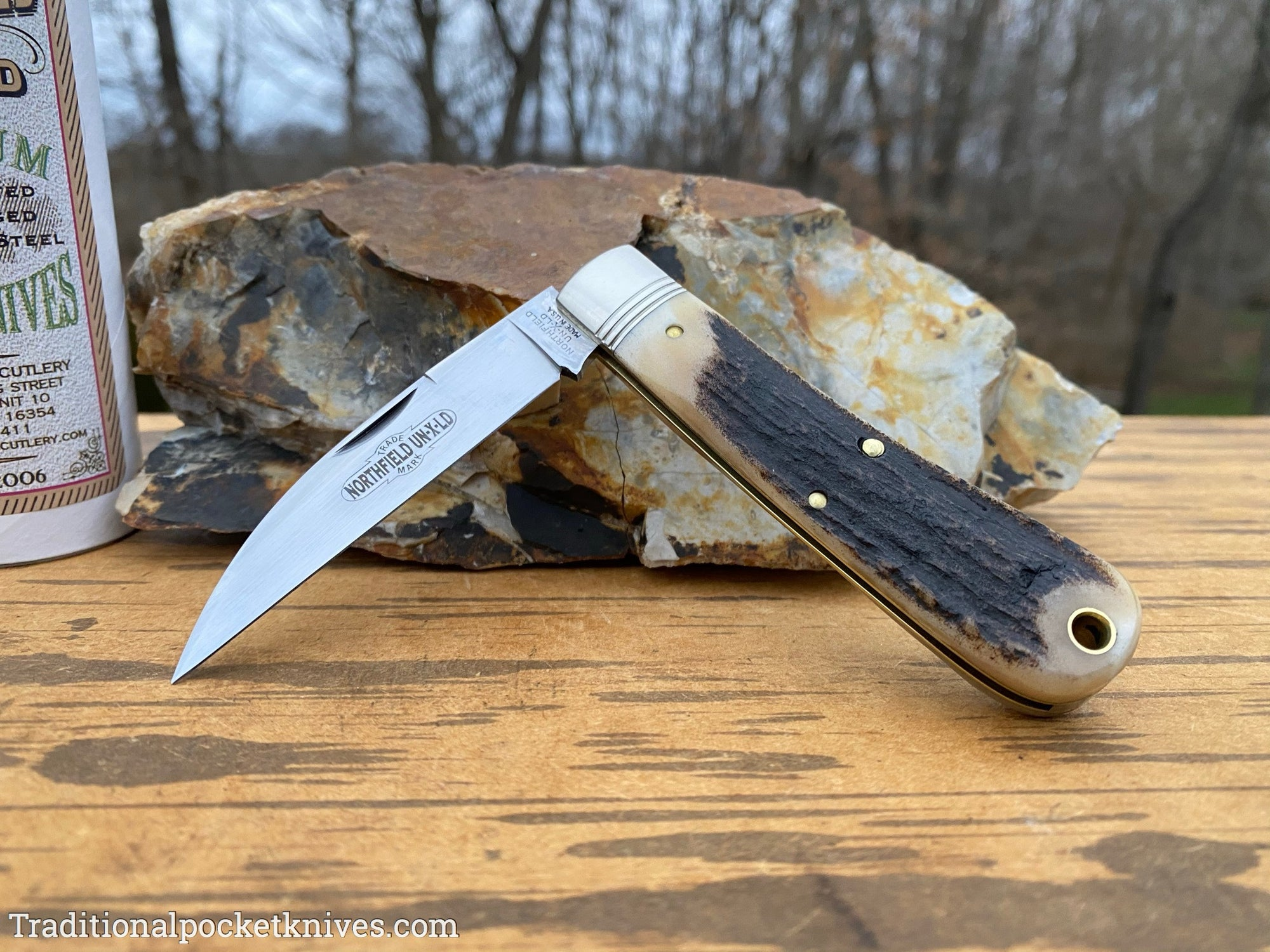 Great Eastern Cutlery #470120 Northfield UN-X-LD Viper Sambar Stag #7