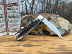 Great Eastern Cutlery #470120 Northfield UN-X-LD Viper Sambar Stag #11