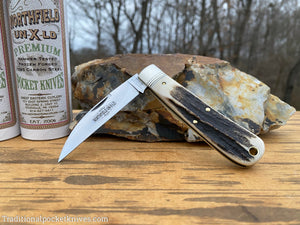 Great Eastern Cutlery #470120 Northfield UN-X-LD Viper Sambar Stag #12