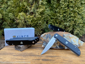Finch Cimarron Black & Smokey Gray G10