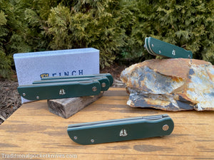 Finch Cimarron Dark Green & Tan G10