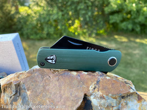 Finch Runtly G-10 Green Pumpkin