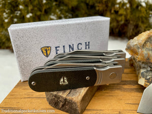 Finch Model 1929 Dark Denim Micarta