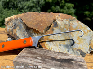 Great Eastern Cutlery #H20B14 Bird Hook Orange Delrin