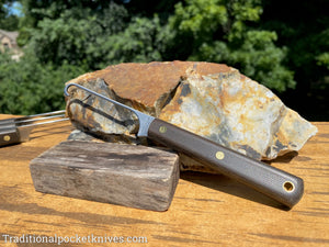 Great Eastern Cutlery #H20B14 Bird Hook OD Green Canvas Micarta