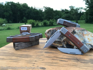 LionSteel BestMan Two Blade Jack Santos Wood (BM13)