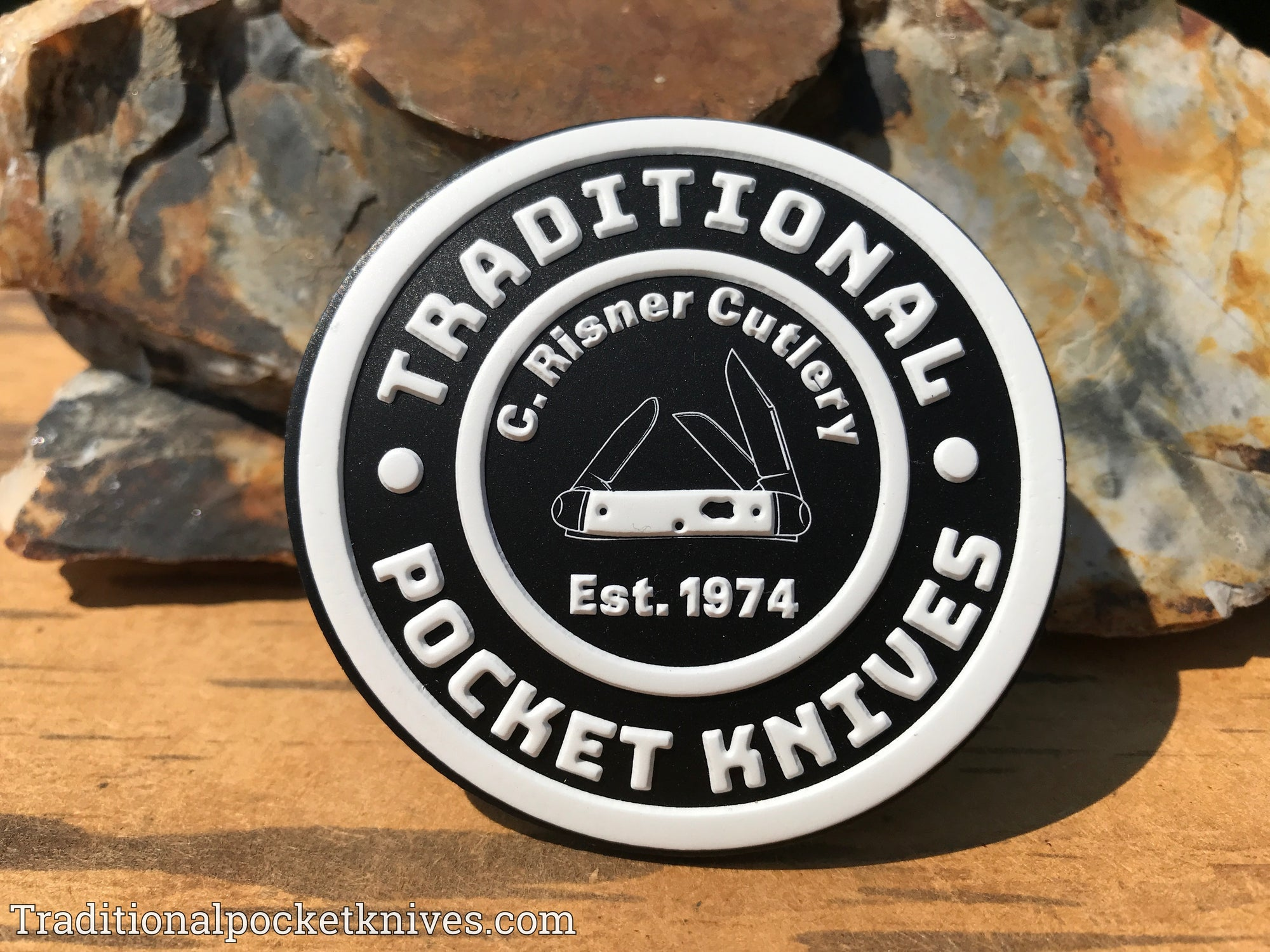 C. Risner Cutlery Rubber Velcro Patch