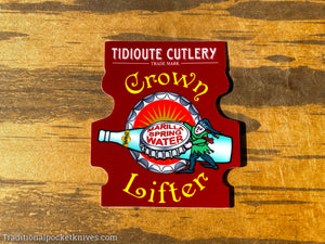 Great Eastern Cutlery #85 Crown Lifter Sticker