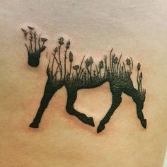 Tatouage Cheval Nature
