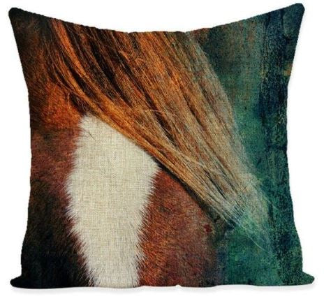 COUSSIN CHEVAL <br> CHANFREIN