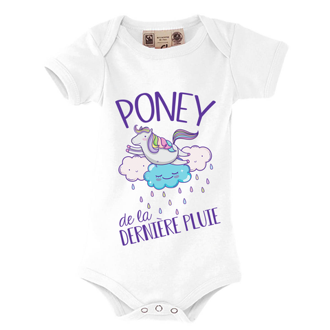 Body Bébé<br> Poney