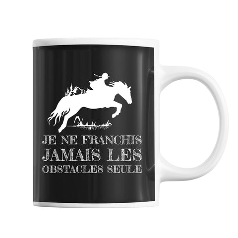 Mug saut d'obstacles