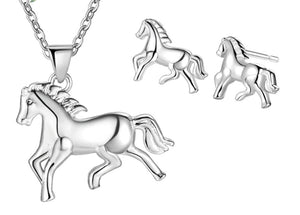 Collier Cheval <br> Galop [Argent]