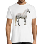 T-shirt Cheval Arabe Homme