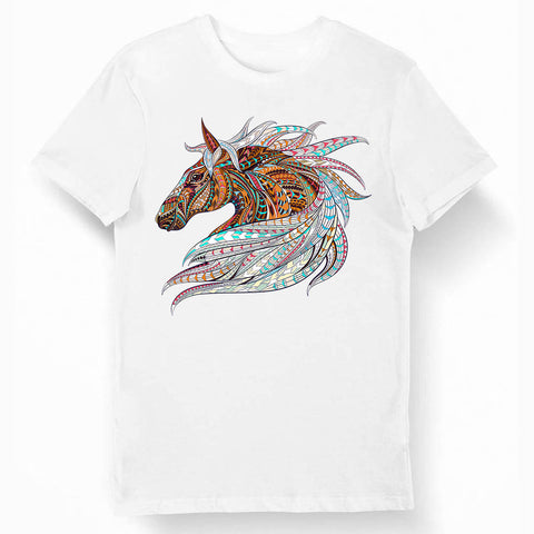T-shirt Cheval Multicolor
