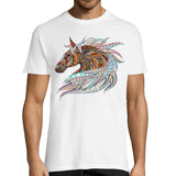 T-shirt Cheval Multicolor Homme