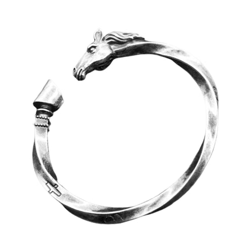 Bracelet Cheval <br> Viking Ajustable