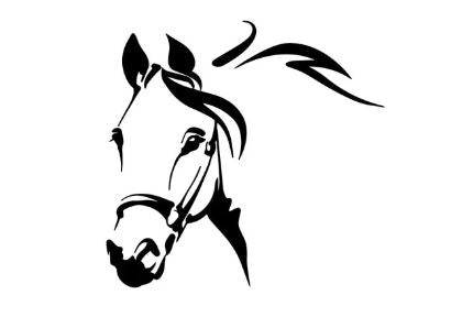 Sticker Cheval <br> Regard