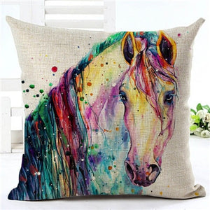 COUSSIN TÊTE <br> CHEVAL