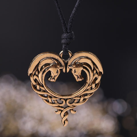 Collier Cheval <br> Amour Celtique