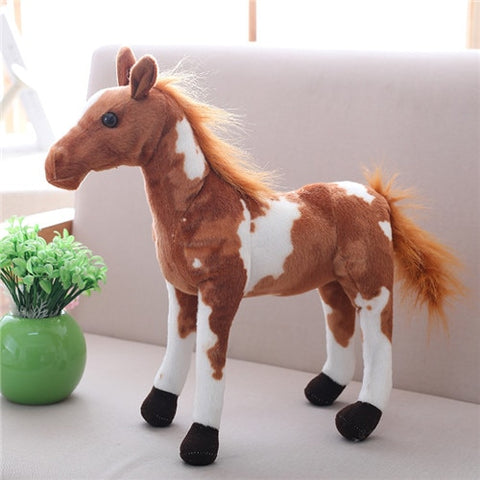 Peluche Cheval <br> Marron
