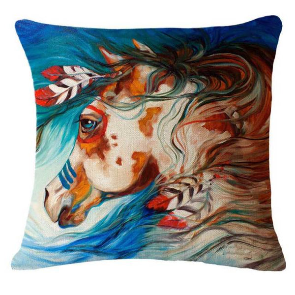COUSSIN CHEVAL <br> INDIEN