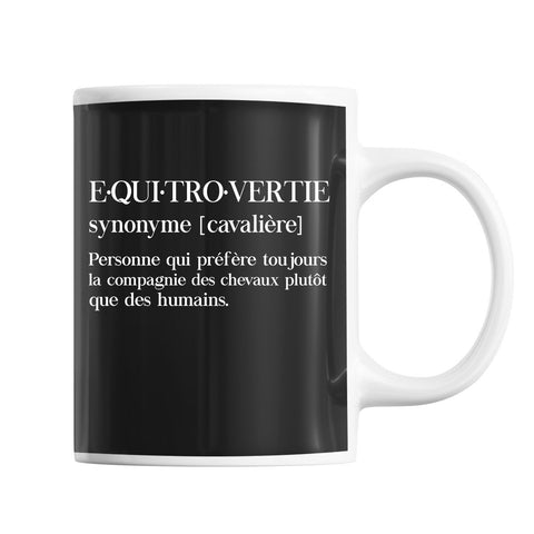 Mug Cheval equitrovertie