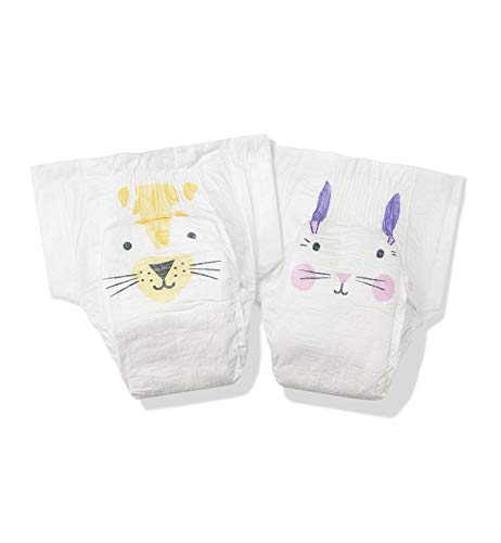 Kit & Kin Eco Nappies Size 2 Hypoallergenic and Sustainable (40 x 4 packs, 160 nappies)