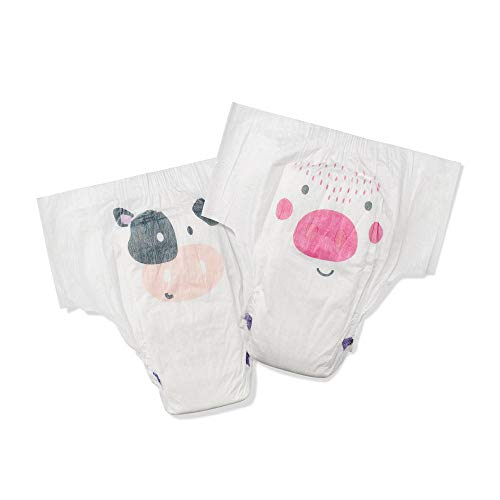 Kit & Kin Eco Nappy Pants Size 5 Hypoallergenic and Sustainable, 20 x 6 Packs (120 Nappies)