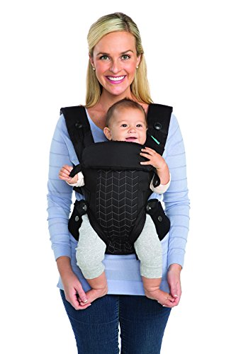 Infantino Upscale Carrier, Black, One Size