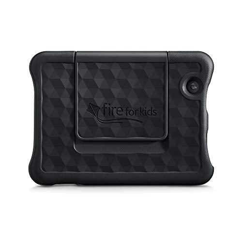 Kid-Proof Case for Fire 7 Tablet | Compatible with 9th-Generation Tablet (2019 release), Black