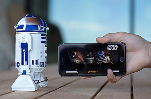 Sphero R201ROW R2-D2 App-Enabled Droid Star Wars Action Figure, White