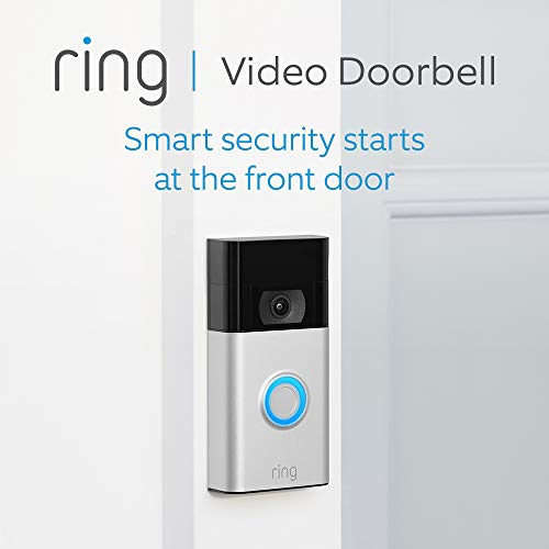 All-new Ring Video Doorbell (2nd Gen) | 1080p HD video, Advanced Motion Detection, and easy installation