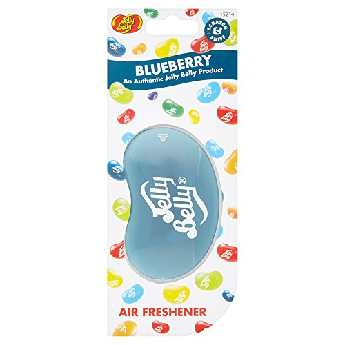 Jelly Belly 15214 3D Jelly Bean Air Freshener, Blueberry