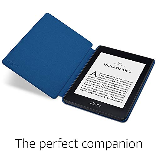 Amazon Kindle Paperwhite Water-Safe Fabric Cover (10th Generation - 2018 Release), Blue