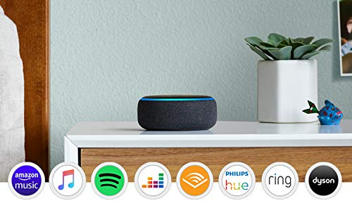 Ring Video Doorbell Pro plus Amazon Echo Dot Charcoal