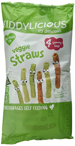 Kiddylicious Multipack Veggie Straws, 4 packs of 4, 16-Counts