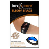 Ionocore® Tennis Elbow Strap - Golfers Arm Support Brace with EVA Compression Pad - Fully Adjustable & Lightweight Pain Relief Forearm Protection - for Golf, Home & Gym Weightlifting