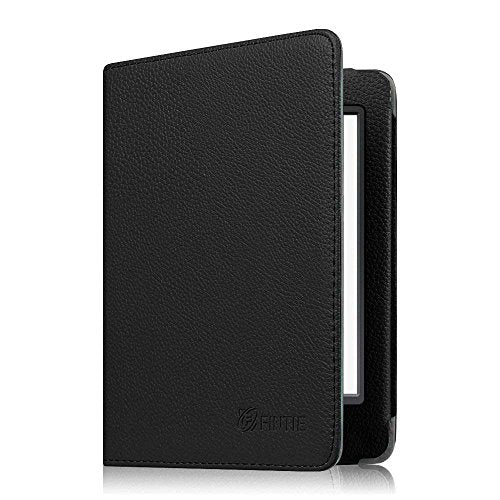 Fintie Folio Case for Kindle Paperwhite - Fits All Paperwhite Generations Prior to 2018 (Not Fit All-New Paperwhite 10th Gen), Black