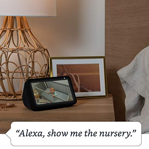 Echo Show 5 –Stay in touch with the help of Alexa, Black