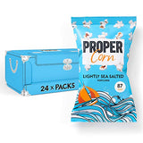 PROPERCORN Lightly Sea Salted Popcorn(Pack of 24)