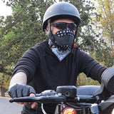 Grace Folly Half Face Mask for Cold Winter Weather. Use this Half Balaclava for Snowboarding, Ski, Motorcycle. (Many Colors) (Black)