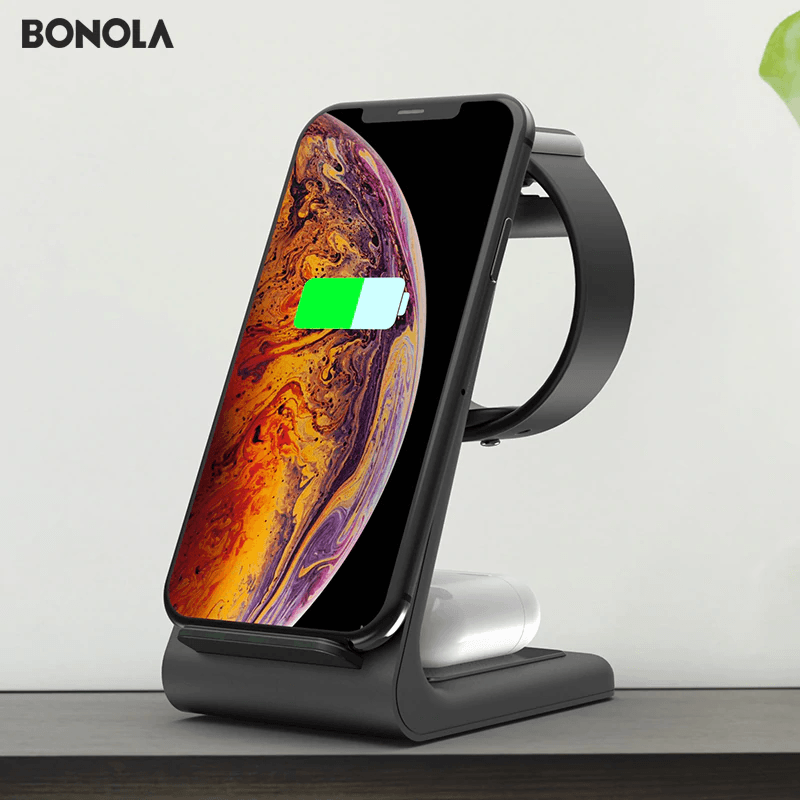 3 in 1 Wireless Charger Station - Smoothpushstore